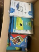 90 X ASSORTED TABLET CASES IE SURFACE, KINDLE, LEMOVO, IPAD