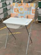 1 x Pallet of 8 Baby changer and bath sets