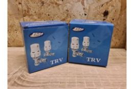 TRADE LOT 60 X NEW BOXED ELITE TRV THERMOSTATIC RADIATOR VALVES