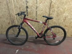 FUJI MOUNTAIN BIKE WITH V BLOCK BRAKES AND FRONT SUSPENSION