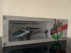 4 X BRAND NEW MINI FLYER GYROSCOPE REMOTE CONTROL HELICOPTERS