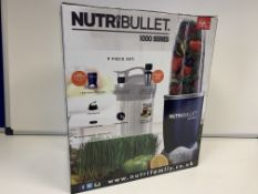 BRAND NEW NUTRIBULLET 100 SERIES 9 PIECE SET