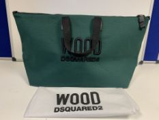 BRAND NEW WOOD DSQUARED2 HAND BAG