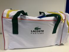 BRAND NEW LACOSTE SPORTS BAGS