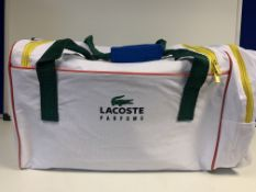 2 X BRAND NEW LACOSTE SPORTS BAGS