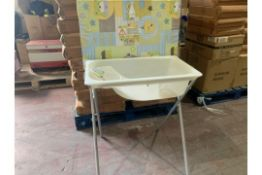 2 X BABY CHANGER AND BATH SETS