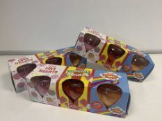 6 X BRAND NEW SWIZZLES 3 JAR CANDLE SETS INCLUDING LOVE HEARTS, DRUMSTICK AND RAINBOW DROPS