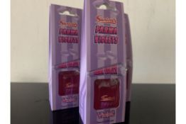 12 X BRAND NEW SWIZZELS PARMA VIOLET REED DIFUSERS