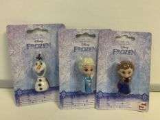 280 X VARIOUS DISNEY FROZEN ERASERS IN 1 BOX