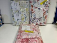 4 X BRAND NEW FIELD AND DAY DUVET SETS IN VARIOUS STYLES AND SIZES