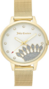JUICY COUTURE GOLD COLOURED LADIES WRIST WATCH RRP £139.00