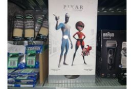 LIMITED EDITION 1 OF 4000 DISNEY PIXAR ANIMATION STUDIO SERIES INCREDIBLES COLLECTABLE