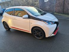 MT17 FOF TOYOTA AYGO. First registered 31 May 2017. 26,676 miles