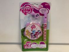 72 x BRAND NEW PACKAGED MY LITTLE PONY MUSIC SETS. RRP £9.99 EACH