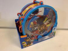 24 x BRAND NEW BOXED PAW PATROL DRUM KITS - INCLUDES DRUM & STICKS, FLUTE, CASTANETS, TAMBOURINE,
