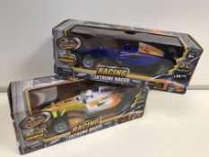 24 x BRAND NEW BOXED TEAM POWER EXTREME RACER - FRICTION POWER WITH SOUNDS. RRP £14.99 EACH