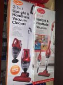 BRAND NEW QUEST 2 IN 1 UPRIGHT AND HANDHELD VACUUM CLEANERS