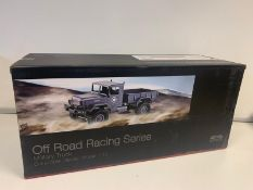 BRAND NEW 4 WHEEL DRIVE OFF ROAD RACING SERIES MILITARY TRUCK COLLECTIBLE DIECAST MODEL