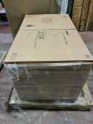 (A6) PALLET TO CONTAIN 50 x NEW GLOSS CREAM 600MM SLAB DOORS