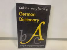 36 X BRAND NEW COLLINS EASY LEARNING GERMAN DICTIONARY
