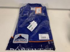 8 X BRAND NEW PORTWEST ROYAL COLOURED JACKETS SIZE SMALL