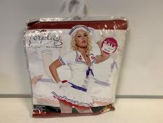 14 X BRAND NEW FORPLAY SAILOR SWEETIE FANCY DRESS IN VARIOUS SIZES RRP £35 EACH
