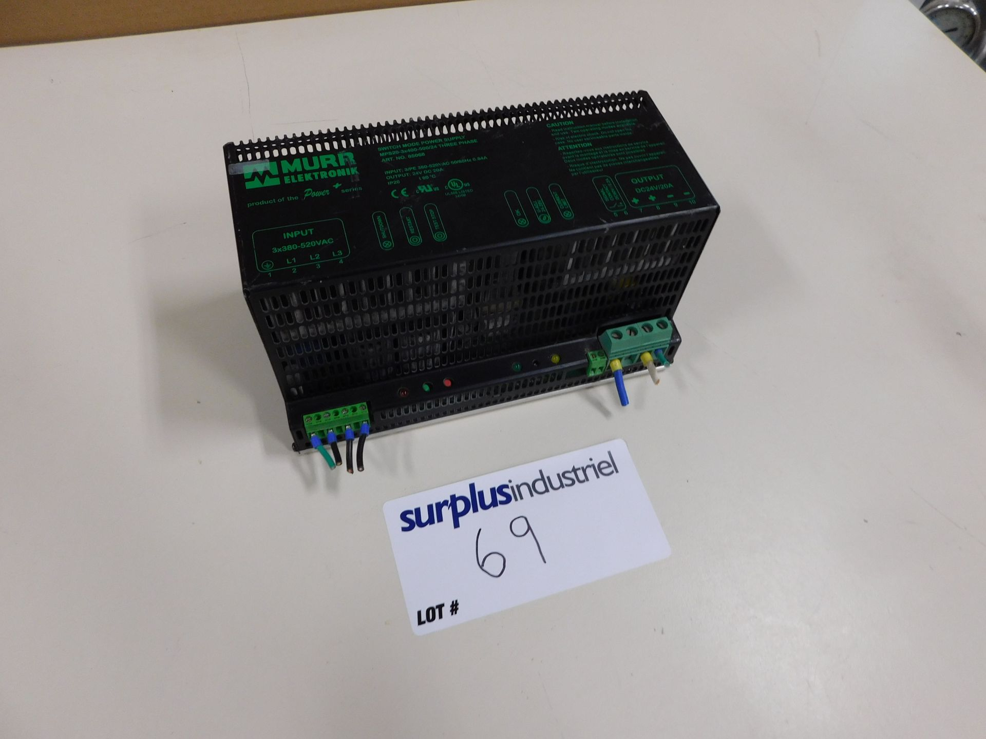 MURR ELEKTRONIC MPS20-3X400-500/24