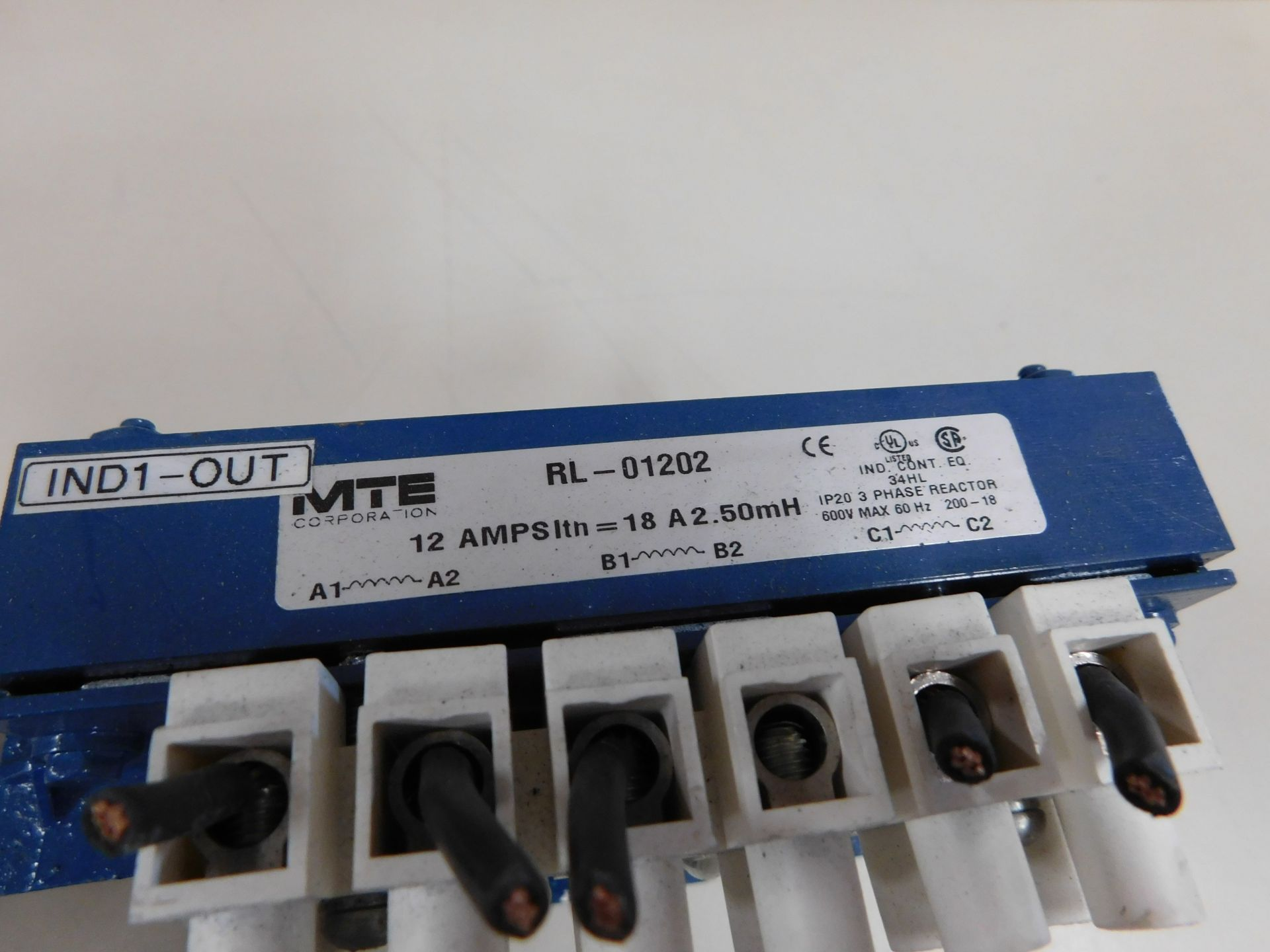 Lot 109 - MTE RL-01202 REACTOR
