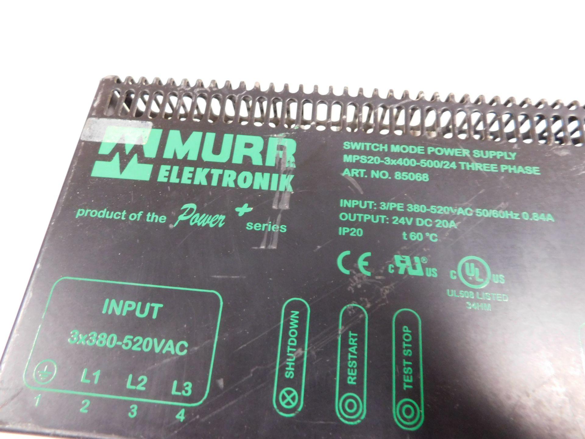 MURR ELEKTRONIC MPS20-3X400-500/24 - Image 3 of 4