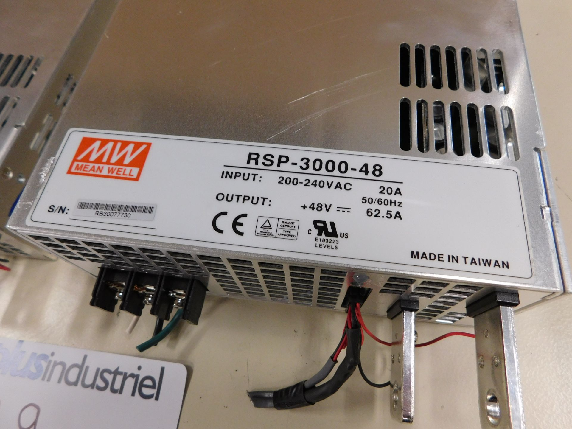 Lot 99 - RSP-3000-48 POWER SUPPLY