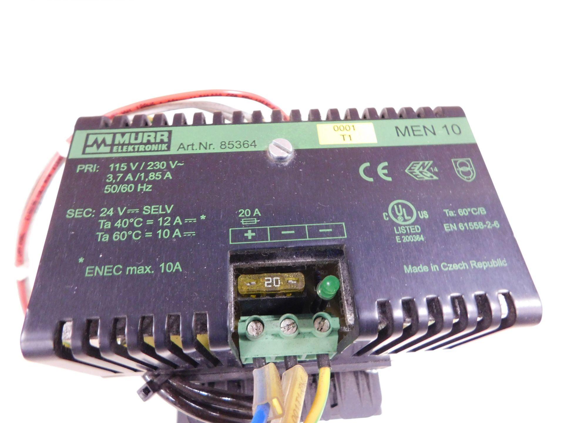 Lot 108 - MURR ELEKTRONIC 85364 POWER SUPPLY