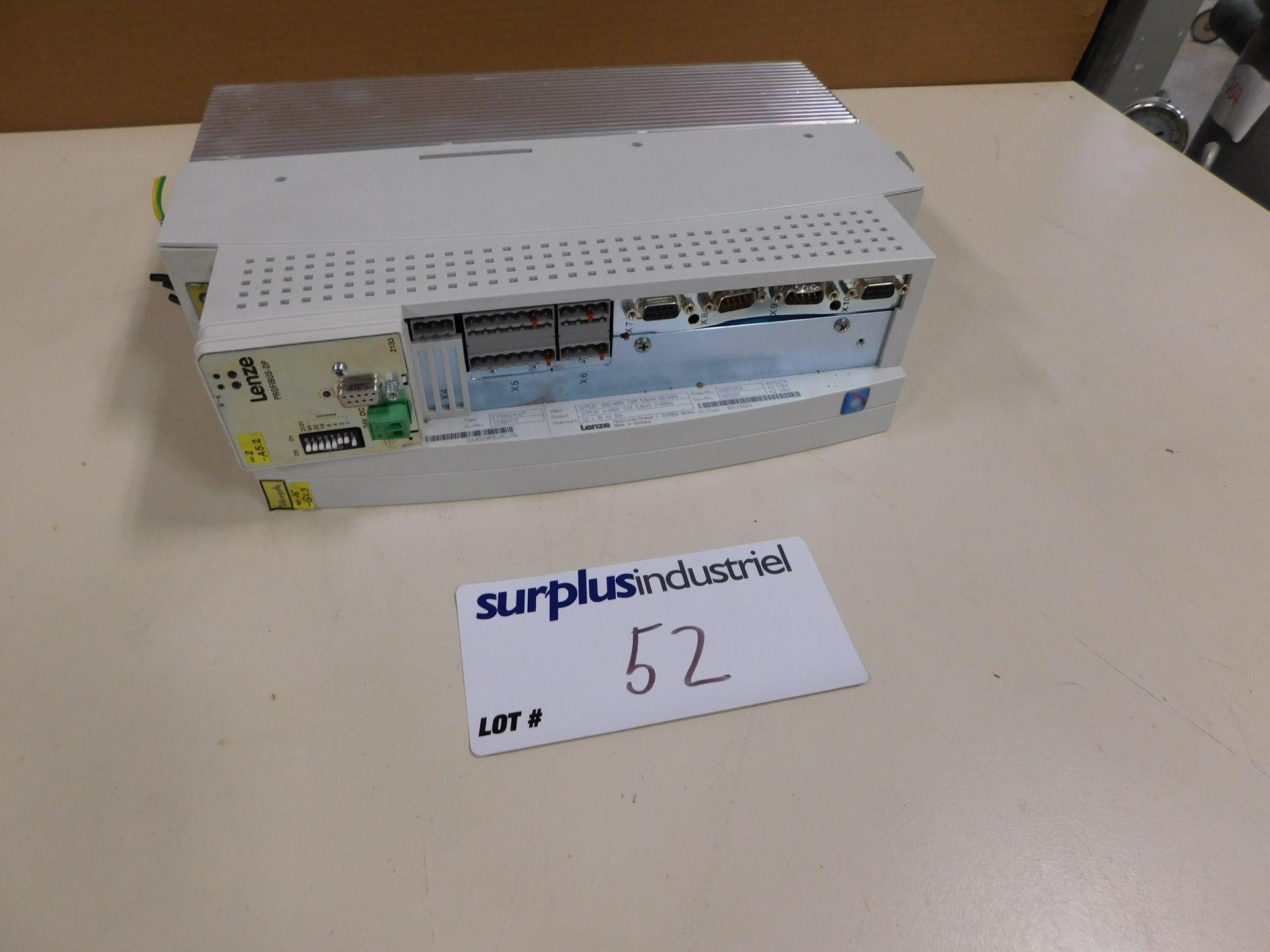 Lot 52 - LENZE EVS9324-EP SERVO CONTROLLER