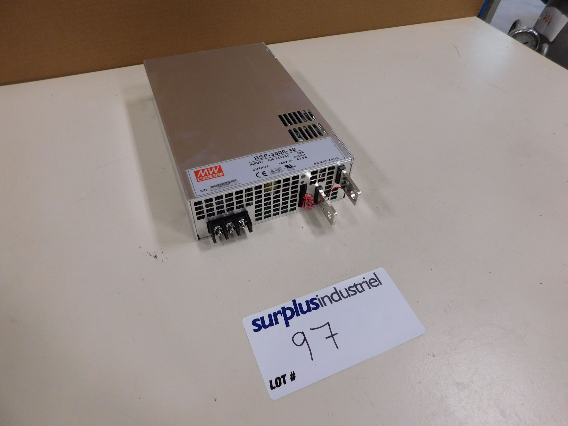 Lot 97 - RSP-3000-48 POWER SUPPLY