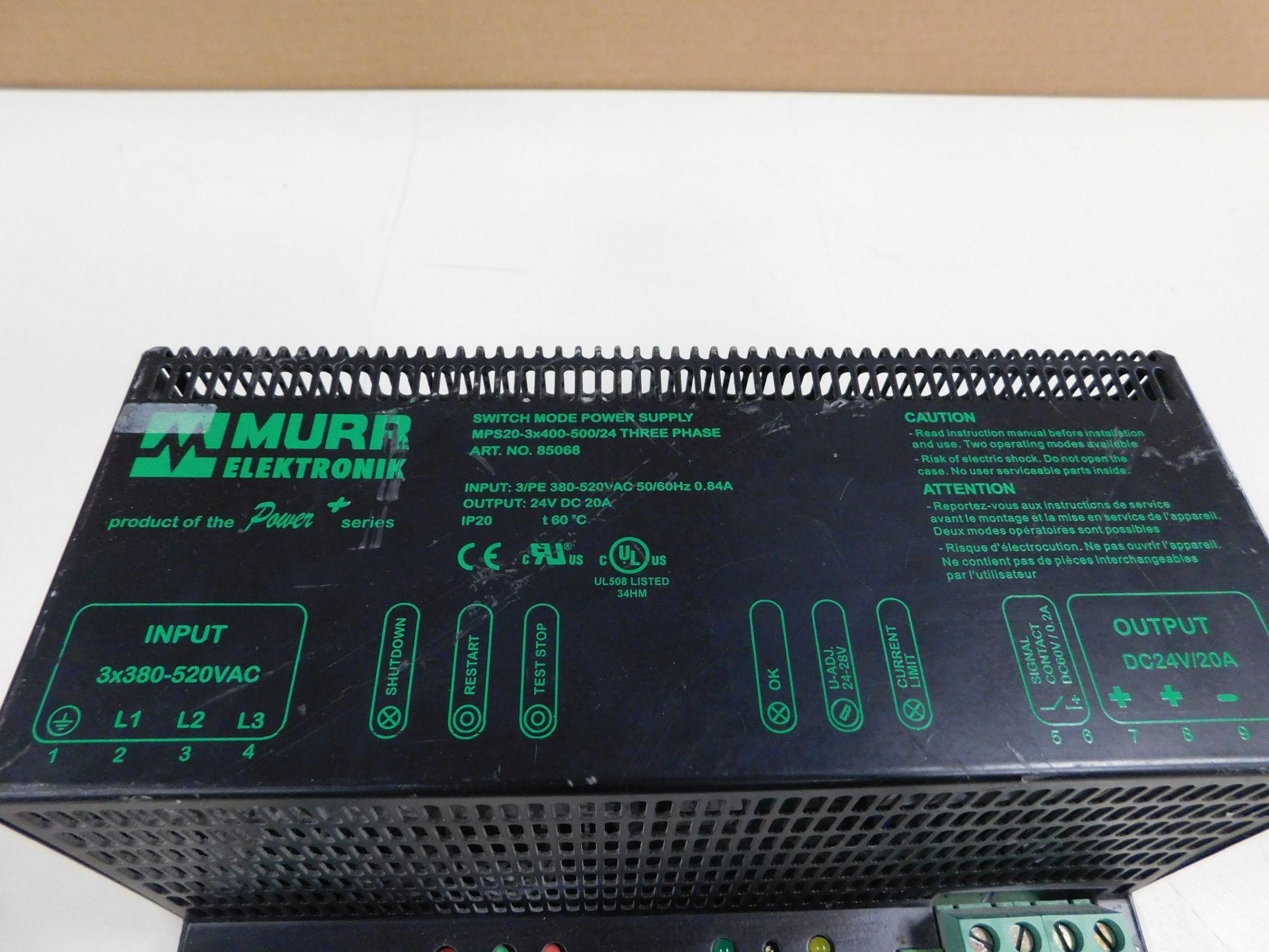 MURR ELEKTRONIC MPS20-3X400-500/24 - Image 2 of 4