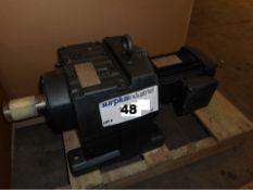 GEAR MOTOR 230/460 VOLT, 1.0 HP