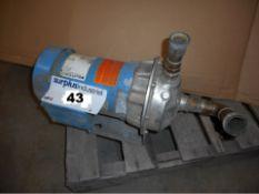 PUMP 1 1/2 HP, 575 VOLT, RPM 3450