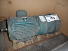 GEAR MOTOR LEESON 3 HP, 575 VOLT, 1770 RPM