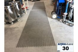 Lot of 2 CONVEYOR BELT 40 INCHES WIDE BY 10 FEET IN LENGTH