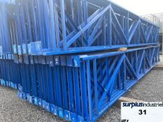 Structural upright racking 44 ''x 18'