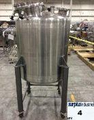 140 gal stainless steel tank