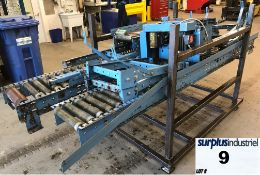 MOODY motorized belt conveyor + -19 'long 9 '' wide strap 15 '' outside 600V motor 600v control