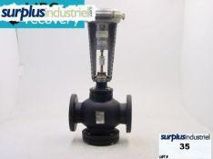 Siemens 4″ Valve W/ 12″ Pneumatic Valve Actuator *NEW