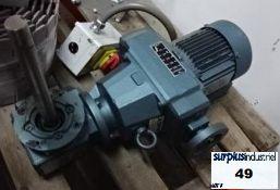 Motor reducer sew eurodrive variable 230 volt 3 phases