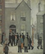*After Laurence Stephen Lowry RA (1887-1976)