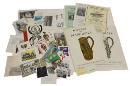 A quantity of ephemera