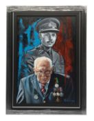 Captain Tom Young and Old oil on canvas