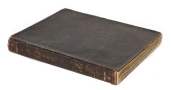 1869-1882 AN ENGINEER'S MANUSCRIPT NOTE BOOK: