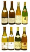 Assorted French White Wine: Remoissenet Père et Fils, 1988, one bottle and seven various others