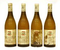 Puligny-Montrachet, 1er Cru, Les Champs Canet, Louis Carillon et Fils, 1990, four bottles