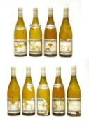 Auxey-Duresses, Charton et Trébuchet, 1994;1996, and ? vintages, 9 bottles total